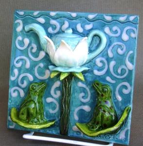 Frog Tea Tile
