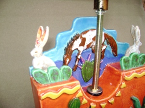 arizona lamp, star ornaments 010