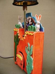 arizona lamp, star ornaments 012