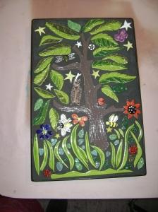 Debbie's Mosaic Tree of life.  Wonderful!
