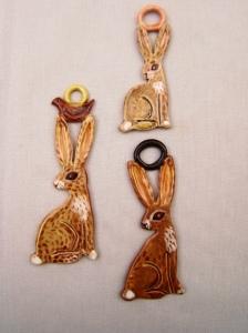 Jack Rabbit Ornaments