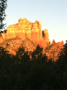 A view from our dining table, Sedona