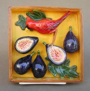 cardinal on figs