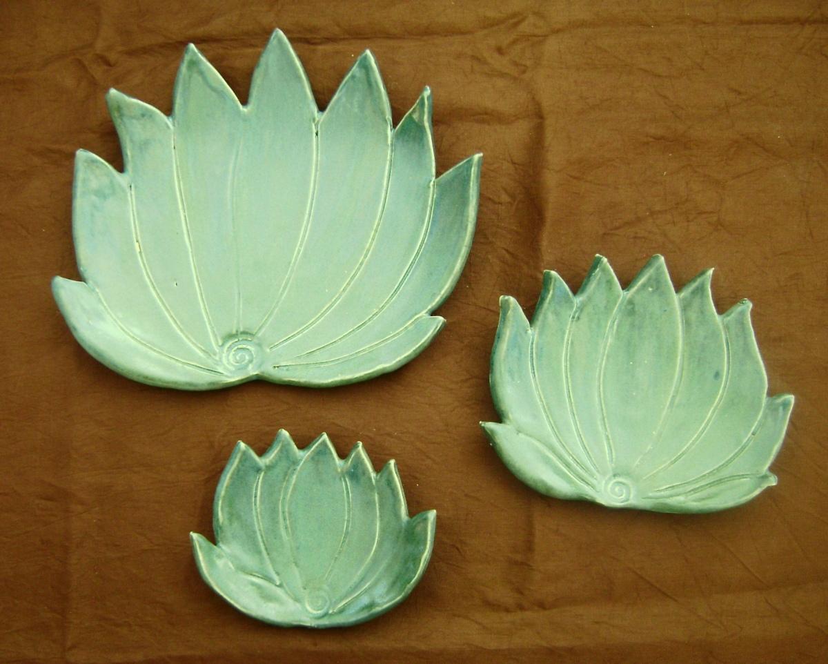 New Botanical Pottery, Agave Cactus