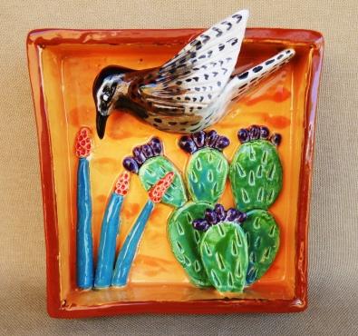 Cactus Wren and Cactus Shadow box