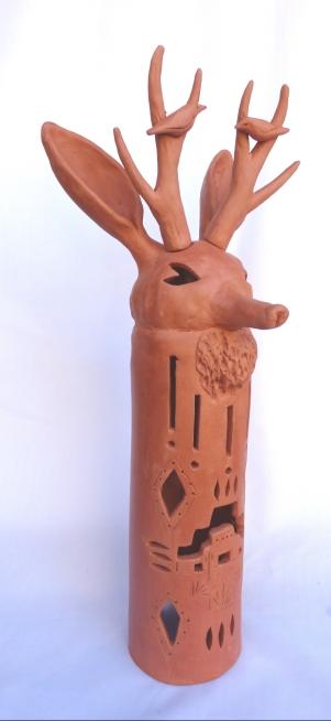 Deer Votive holder