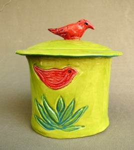 red bird canister 2
