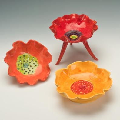 Variety Poppy Bowls