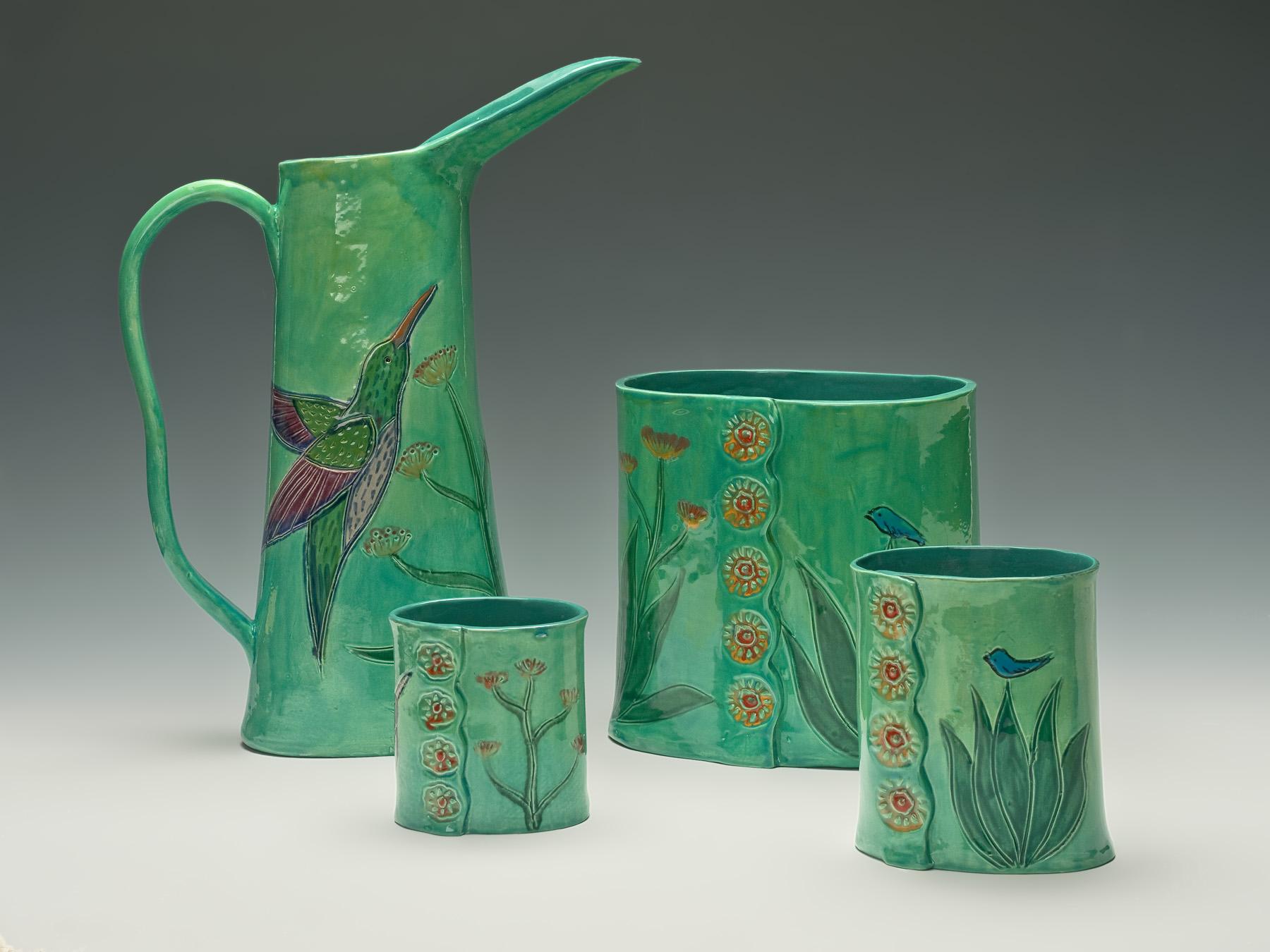 Robin Chlad Designs 3 Dimensional Mosaics Vibrant