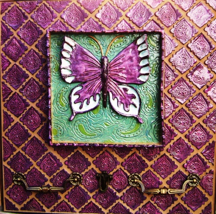 Butterfly Tile Wall Art