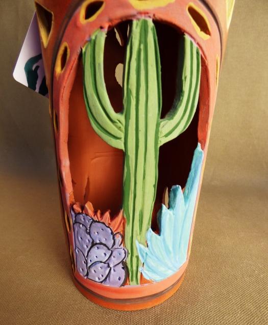 coyote cactus close up