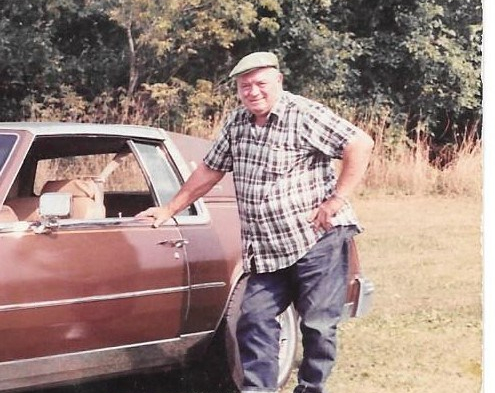 Dad and car (2)