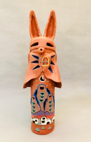 "Caped Coyote 18"" x 4"""
