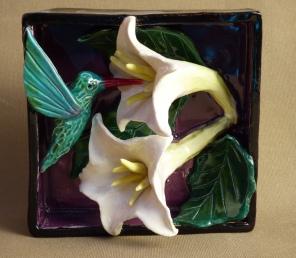 hummer and datura flower sb