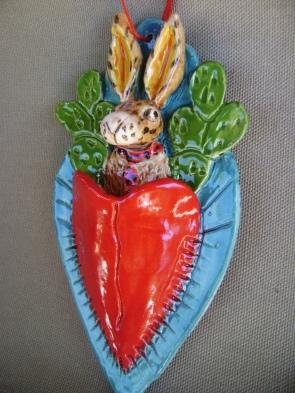 j rabbit close up tie