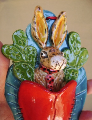 j rabbit orni. in heart in hand