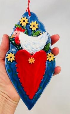 Chicken Heart Pocket