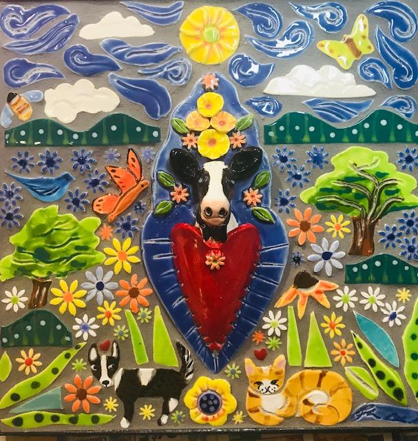 farm mosaic
