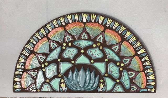 agave art deco arch