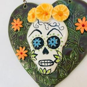green S skull 2
