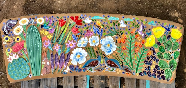 quail cactus g bench
