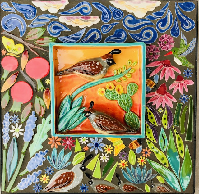 quail mosaic 12